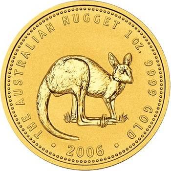 1 oz 2006 Australian Kangaroo Gold Bullion Coin