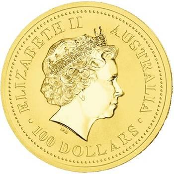 1 oz 1999 Australian Kangaroo Gold Bullion Coin