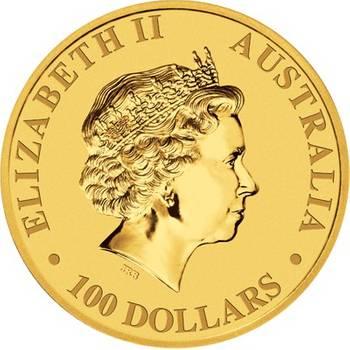 1 oz 2010  Australian Kangaroo Gold Bullion Coin