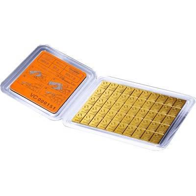 50 g (50x 1g) Valcambi CombiBar Gold Bullion Bar