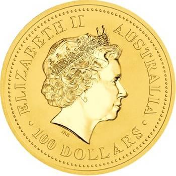 1 oz 2007 Australian Kangaroo Gold Bullion Coin