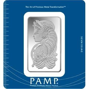 100gram PAMP Suisse Minted Silver Bullion Bar (Brand New Bars)