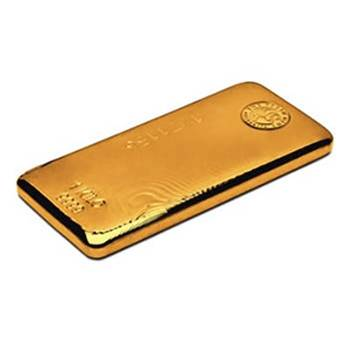 1 kg Perth Mint Gold Bullion Cast Bar