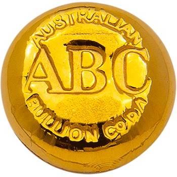1/2oz ABC Cast Gold Bullion Bar