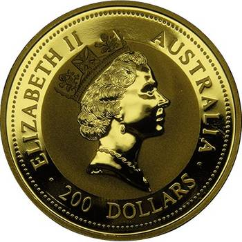 2oz 1997 Kangaroo Gold Bullion Coin