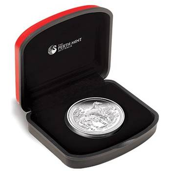 1 oz 2014 Lunar Year of the Horse Series II Silver Proof Coin