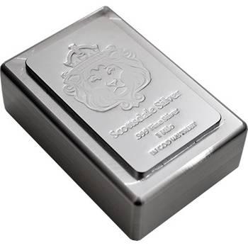 1 kg Scottsdale Stacker Silver Bullion Bar