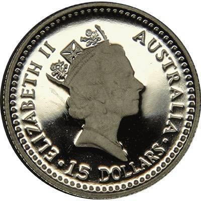 1/10oz 1989 Australia Koala Platinum Bullion Coin (Ex Set)
