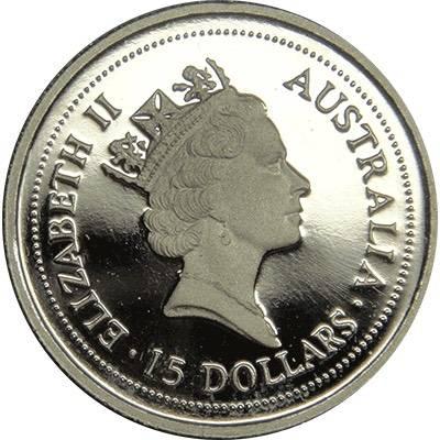 1/10oz 1996 Australia Koala Platinum Bullion Coin (Ex Set)