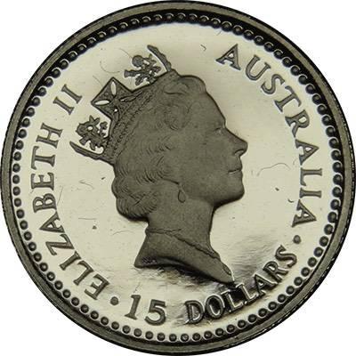 1/10oz 1991 Australia Koala Platinum Bullion Coin (Ex Set)