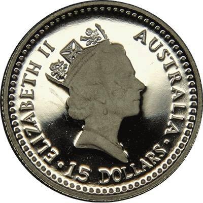 1/10 oz 1990 Australia Koala Platinum Bullion Coin