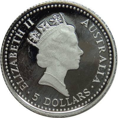 1/20 oz 1990 Australia Koala Platinum Bullion Coin
