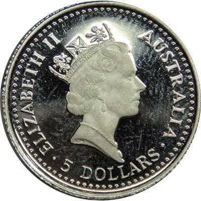 1/20oz 1991 Australia Koala Platinum Bullion Coin (Ex Set)