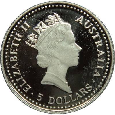 1/20 oz 1992 Australian Koala Platinum Bullion Coin