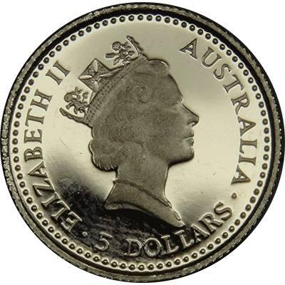 1/20 oz 1993 Australian Koala Platinum Bullion Coin