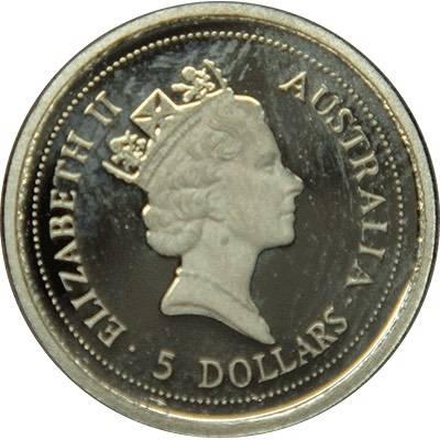 1/20oz 1998 Australia Koala Platinum Bullion Coin (Ex Set)