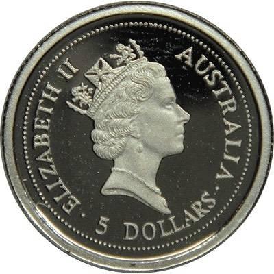1/20oz 1997 Australia Koala Platinum Bullion Coin (Ex Set)