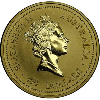 1 oz 1994 Australian Kangaroo Gold Bullion Coin