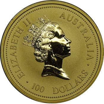 1oz 1995 Kangaroo Gold Bullion Coin