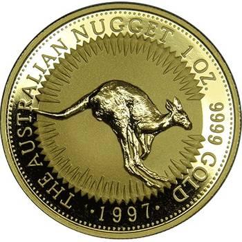 1oz 1997 Kangaroo Gold Bullion Coin