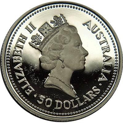 1/2oz 1989 Australia Koala Platinum Bullion Coin (Ex Set)