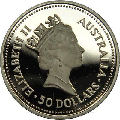 1/2oz 1988 Australia Koala Platinum Bullion Coin (Ex Set)