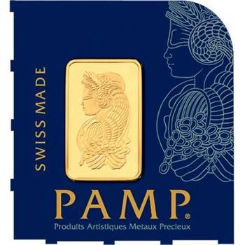 PAMP Suisse MultiGram 1g by 25 Minted Gold Bullion Bar