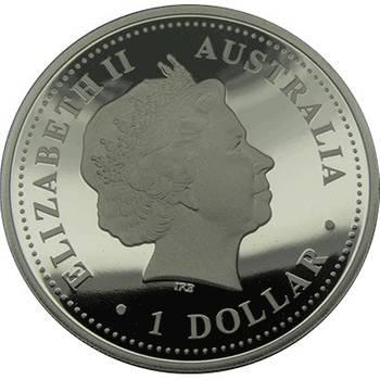 1 oz Silver Discover Australia Series (2007 Adelaide)