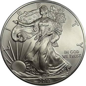 1 oz American Eagle Silver Bullion Coin - Mixed Dates