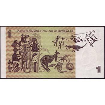 1969 Australia R. 73S One Dollar Star Note Phillips/Randall Australian Decimal Banknote