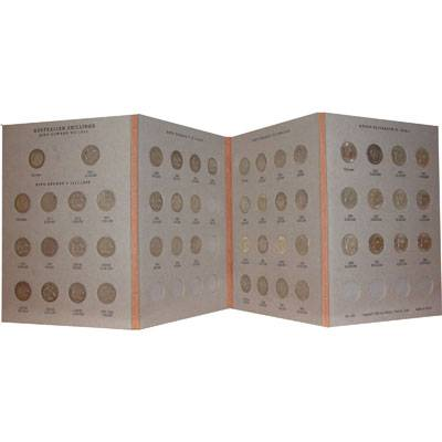 Australia Shilling Collection (1910 to 1963, excludes only 1933)