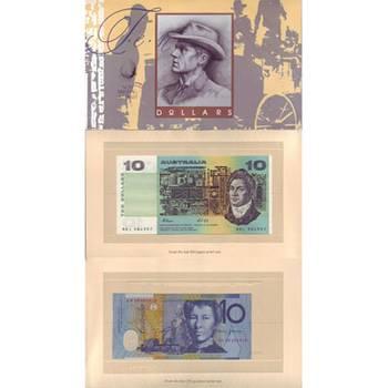 1993 Australia Ten Dollars Fraser/Cole and Fraser/Evans Set