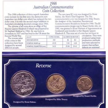 1988 Australian Commemorative Coin Collection