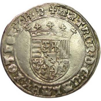 1473 France - Lorraine Rene II - Gros de Nancy good Very Fine