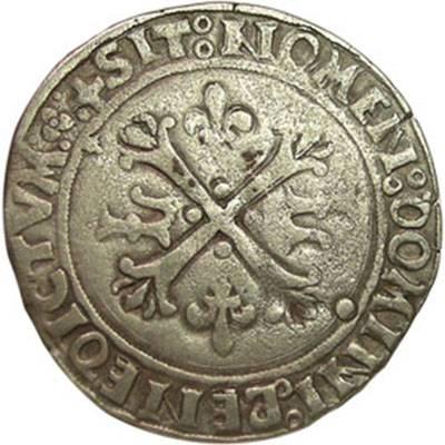 1498 France - Louis XII - Dizain Ludovicus Fine