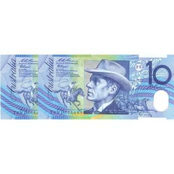 1993 Australia R. 316 Ten Dollars Fraser/Evans