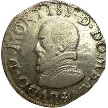 1576 France - Louis II - Teston about Very Fine
