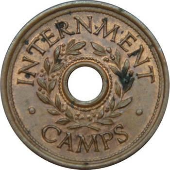 Australia Commonwealth of Australia WWII - Internment Camp Threepence Uncirculated