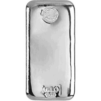 1 kg Perth Mint Silver Bullion Cast Bar- In Stock Now