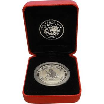 1/2oz 2004 Year of the Monkey Silver Bullion Coin (Mint Condition)