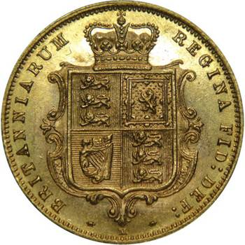 1884 Australia Melbourne Victoria Young Head Shield Reverse Gold Half Sovereign Uncirculated
