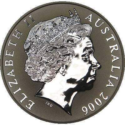 1 oz 2006 $1 Silver Kangaroo (Frosted UNC) (Ex Set)