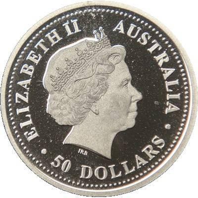 1/2oz 2008 Australia Red Flowered Kurrajong Platinum Bullion Coin (Ex Set)