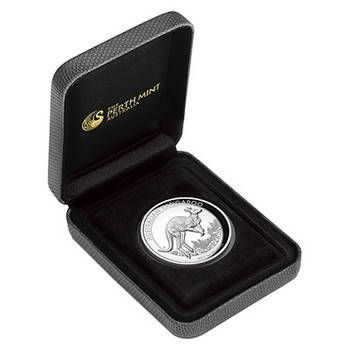 1 oz 2017 Australian Kangaroo High Relief Silver Proof Coin