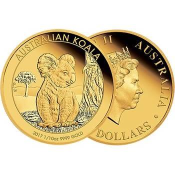 1/10oz 2017 Australian Koala Gold Proof Coin