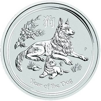 10kg 2018 Lunar Series II Year Of The Dog Silver Bullion Coin (Brand New Coins)