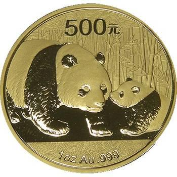2011 Chinese Panda Gold Bullion Five-Coin Set - 1.9oz Total