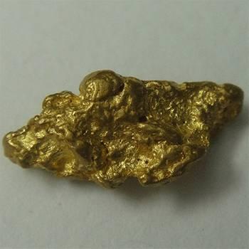 Natural Gold Nugget - 0.6 g