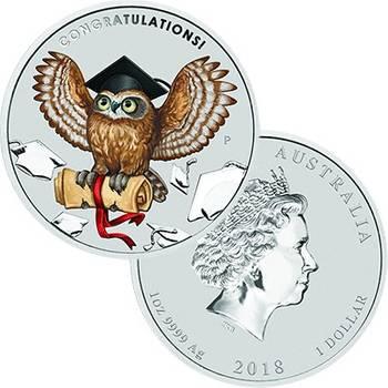 1 oz 2018 Australia Graduation Silver Coin