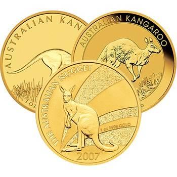 1oz Australian Kangaroo Gold Bullion Coin (Mint Condition) - Dates of our Choice